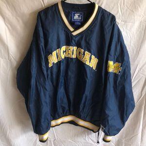 Vintage Starter Pullover Windbreaker Jacket